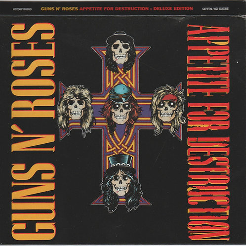 Guns N' Roses - Appetite for Destruction (2 CD digipack) Deluxe Edition