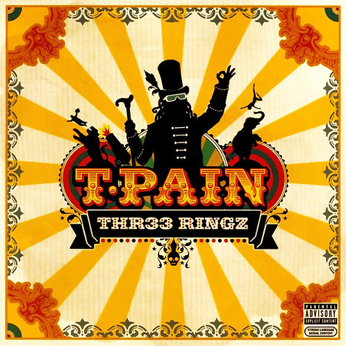 T-Pain ‎– Thr33 Ringz(CD)