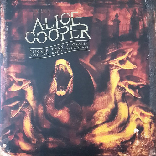 Alice Cooper - Slicker Than A Weasel-Saginaw 1978