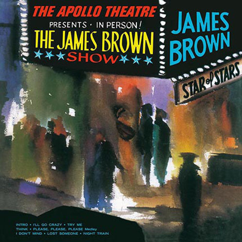 James Brown ‎– Live At The Apollo