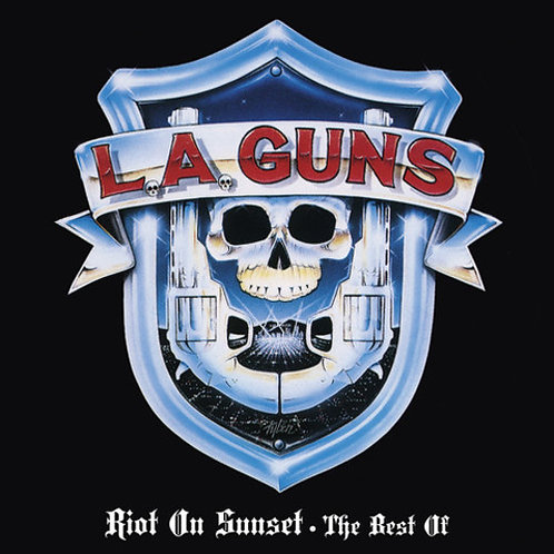 L.A. Guns – Riot On Sunset - The Best Of limited edition red vinyl