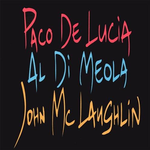 Paco De Lucia, Al Di Meola, John McLaughlin - Guitar Trio (LP)