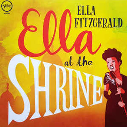 Ella Fitzgerald ‎– Ella At The Shrine(45RPM) (LP)
