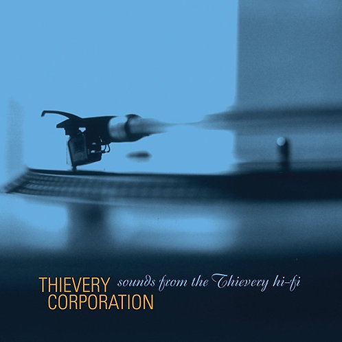Thievery Corporation - Sounds From The Thievery Hi-Fi ( 2LP )