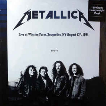 Metallica - Live at Winston Farm NY August 13, 1994 (180G) 2LP