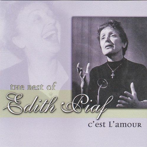 Edith Piaf–C'Est L'Amour(CD)