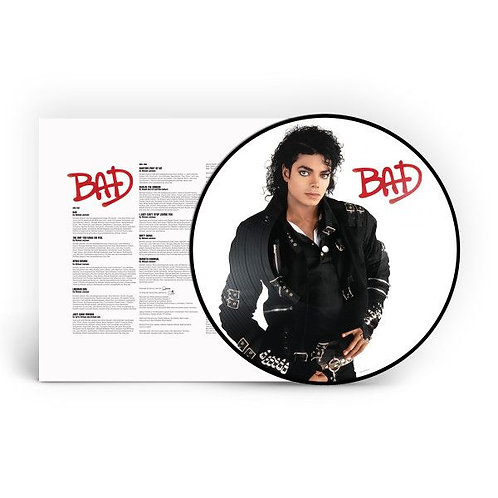 Michael Jackson - Bad (Picture Disc Vinyl LP)