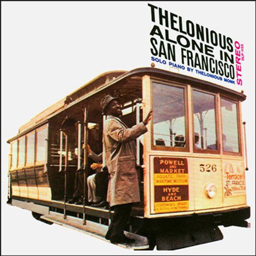 Thelonious Monk - Thelonious Alone In San Francisco (LP)