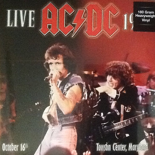 AC/DC - Live At Towson Center Maryland (LP)