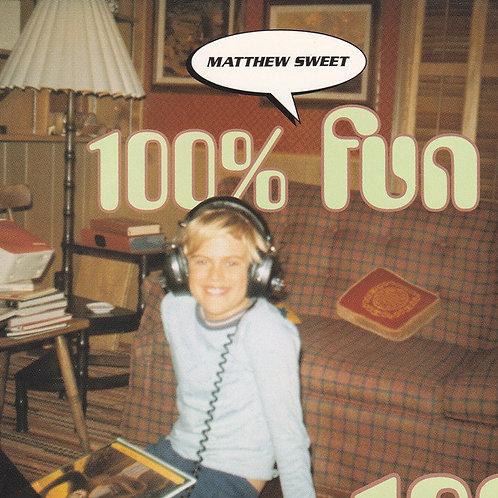 Matthew Sweet–100% Fun(CD)
