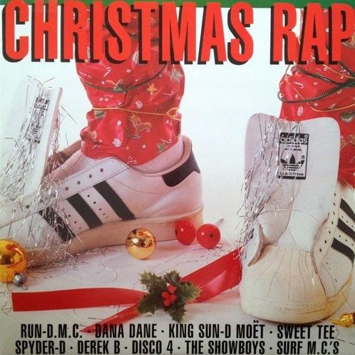 Various Artists- Christmas Rap (Record Store Day Colored Vinyl) (LP)