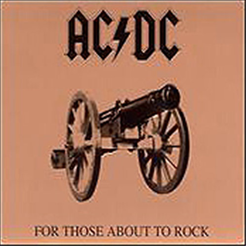 AC/DC - For Those About To Rock, We Salute You (Vinyl LP)
