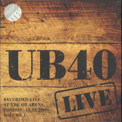 UB40 - LIVE 2009 - VOL 1 (LP)