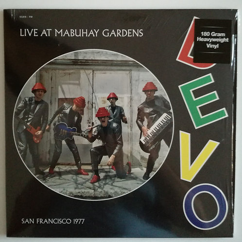 Devo ‎– Live At Mabuhay Gardens - San Francisco 1977