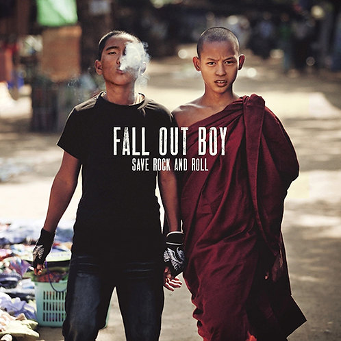 """Fall Out Boy - SAVE ROCK AND ROLL (2 x 10"""") (LP)"""