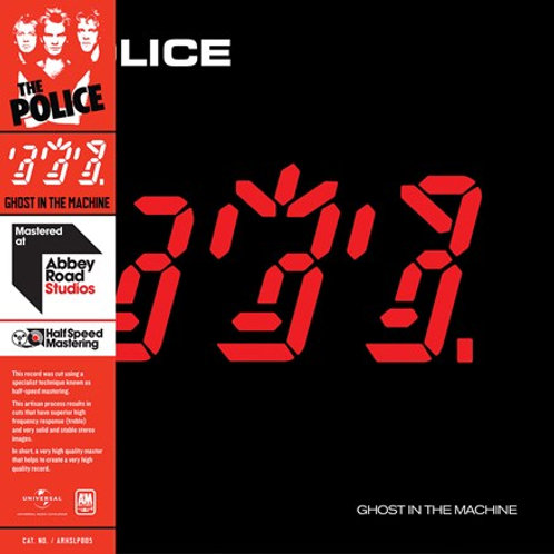 Police - Ghost In The Machine (Half-Speed Mastered) (L.P.)