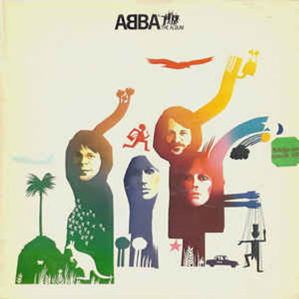 ABBA–The Album (LP)