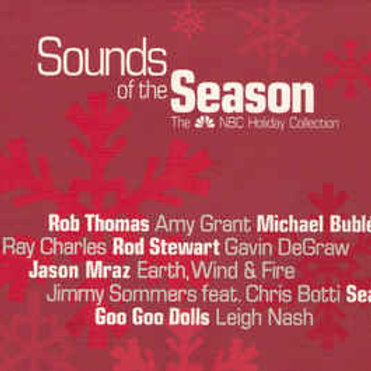 Various ‎– Sounds Of The Season: The NBC Holiday Collection CD