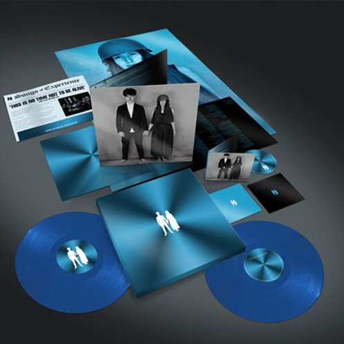 U2 - Song Of Experience (Translucent Cyan Blue 180 Gram Vinyl) (2PC) (L.P.)