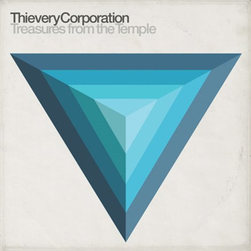 Thievery Corporation - Treasures From The Temple (Digital Download Card, 2PC) (L