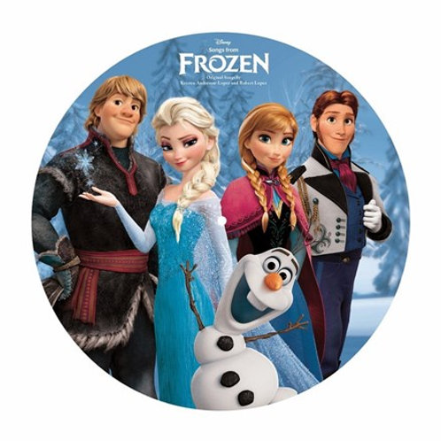 Songs From Frozen (Picture Disc Vinyl) (Various Artists) (L.P.)