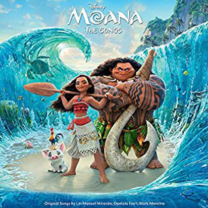 Moana The Songs