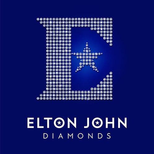 DIAMONDS by Elton John (LP)