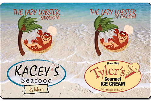$50 Lazy Lobster Gift Card