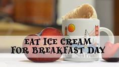 Ice Cream for Breakfast Day OPEN HOUSE Tasting בית פתוח