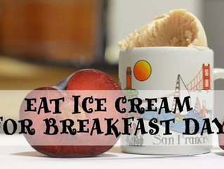 Ice Cream for Breakfast Day OPEN HOUSE Tasting בית פתוח