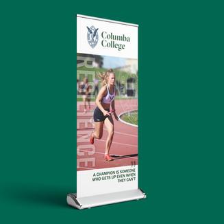 Columba College Banners