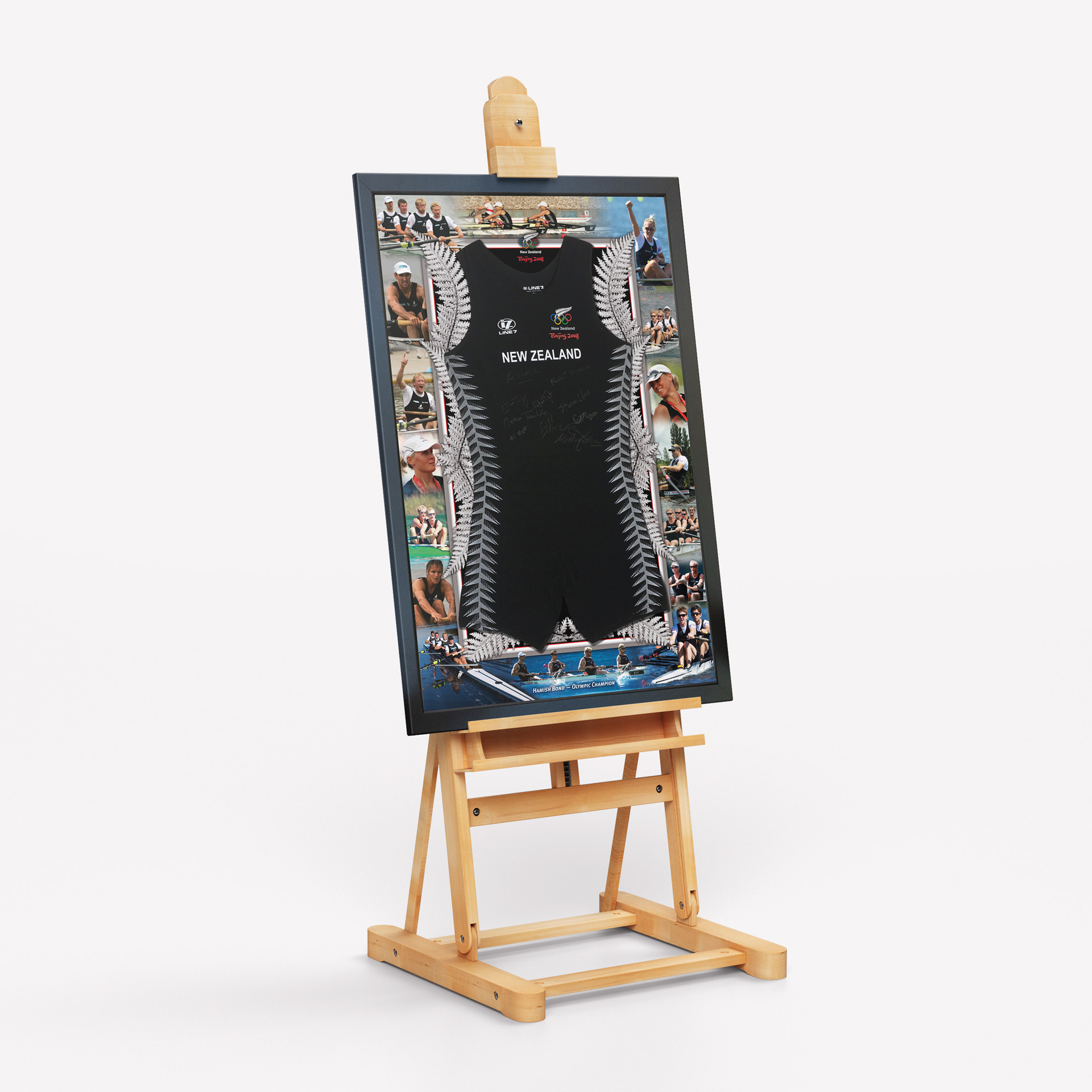 Framed Auction Print