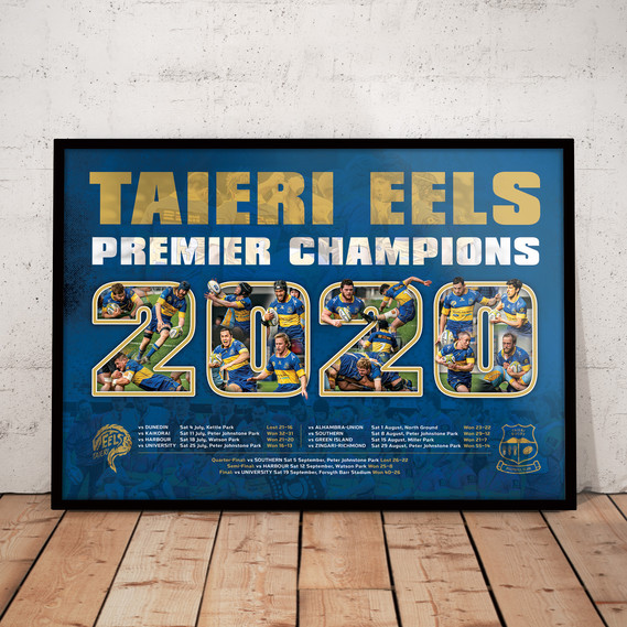 Limited Edition Framed Champions Print