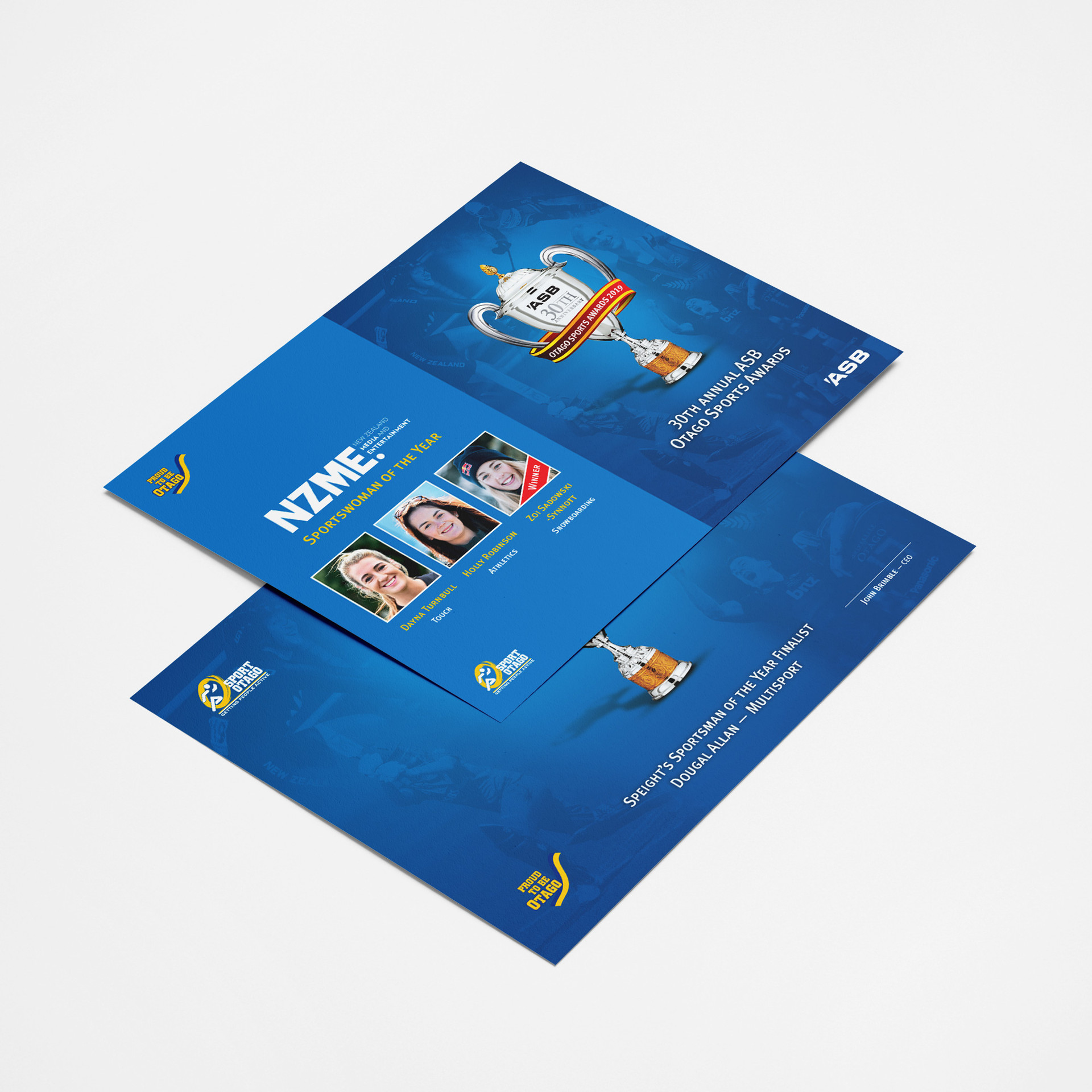Sponsor Gifts & Certificates
