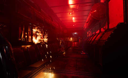 Engine Room Fire