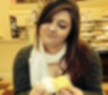 Jess Woodman at Cupcake Charley's