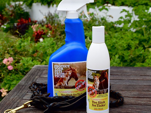 Too Slick for Ticks - Pesticide Free Dog & Horse Spray