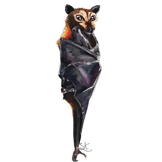 Bat Signed Print