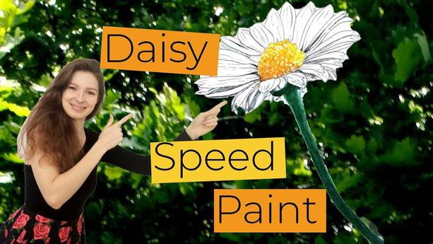 Daisy Speed Paint
