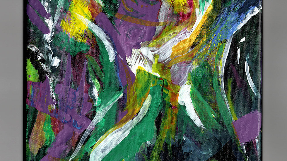 Playground Abstract Painting