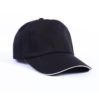 H00001 Silver Bucket Baseball Cap w/ Sandwich Lid
