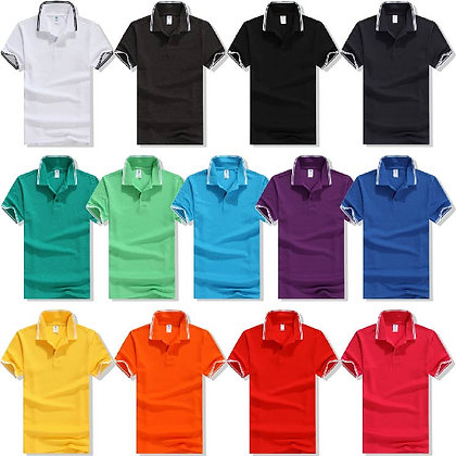 G00053 CVC Tipped Short Sleeves Polo
