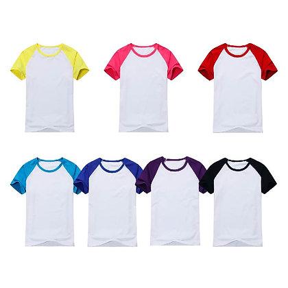 G00002 CVC Short Sleeves Baseball T Shirt