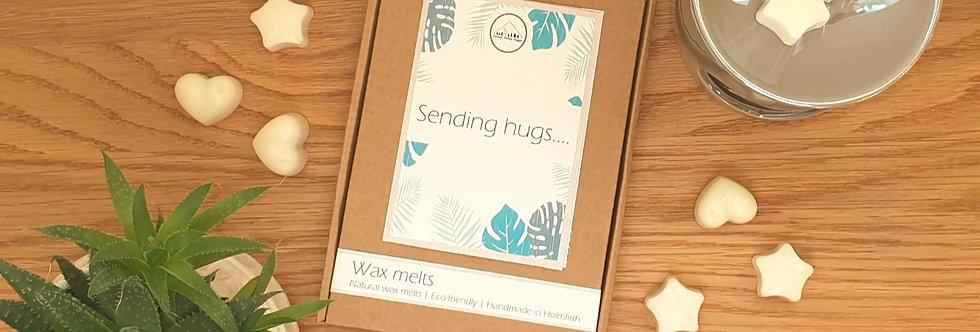 Sending Hugs Scented Wax Melt Letterbox Gift
