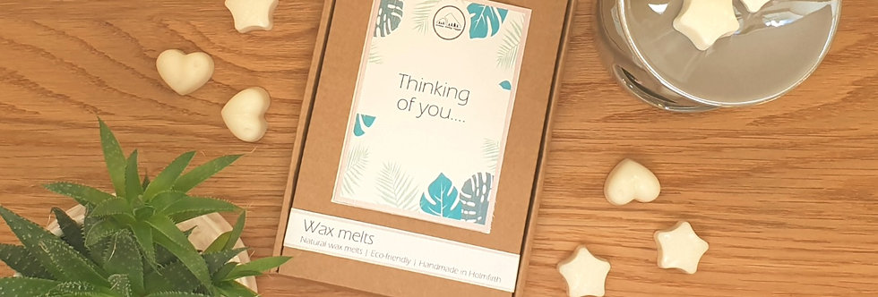 Thinking of you Scented Wax Melt Letterbox Gift