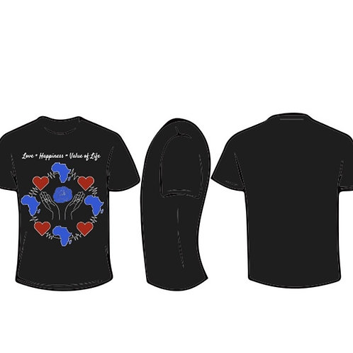 """AOPYO Value of Life """"Love + Happiness = Value of Life"""" [Black and Blue]"""
