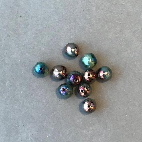 Medium Round Glossy Beads