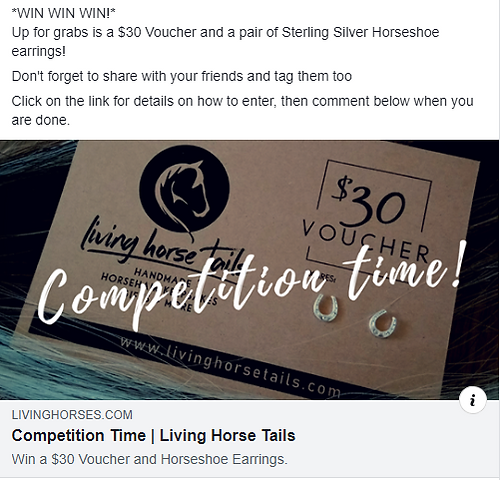 Living Horse Tails Competition