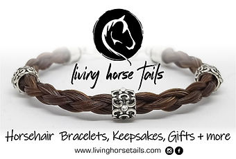 living horse tails - handmade horsehair