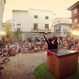 El día de ramiro, teatro de calle
